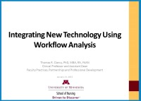 Workflow and Computational Modeling