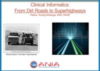 Clinical Informatics: From Dirt Roads to Superhighways