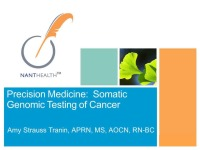 Precision Medicine: Somatic Genomic Testing of Human Cancers