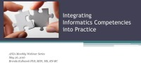 Integrating Informatics Competencies into Practice