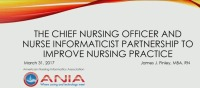The Chief Nursing Officer and Nurse Informaticist Partnership to Improve Nursing RCD Practice