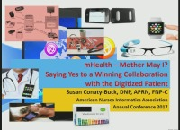 MHealth - Mother May I? Saying Yes to a Winning Collaboration with the QI/PO Digitized Patient