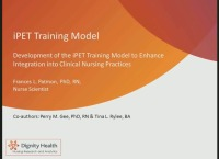 Development of iPet Training Model to Enhance Integration into Clinical Nursing Practice