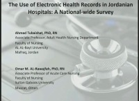 The Use of Electronic Health Records in Jordanian Hospitals: A National-Wide Survey icon