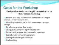 Navigating Your Career: Workshop for Career Development