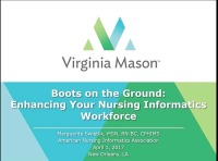 Boots on the Ground: Enhancing Your Informatics Workforce