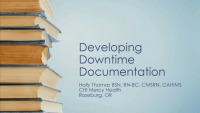 Developing Downtime Documentation