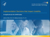 Implementation Decisions That Impact Usability