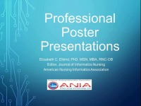 Poster Presentations for Professional Development: Tips and Resources