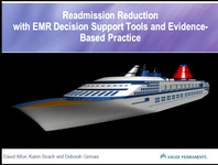 Readmission Reduction with EMR Decision Support Tools and Evidence-Based Practice