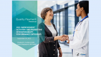 2021 MIPS Improvement Activities and Promoting Interoperability Performance Categories