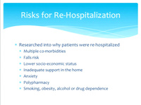 Automating Data Gathering to Assist Home Health Clinicians with Planning Care to Reduce Re-Hospitalization