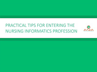 Practical Tips for Entering the Nursing Informatics Profession