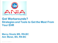 Got Workarounds? Strategies and Tools to Get the Most from Your HER