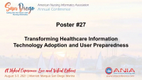 Transforming Healthcare Information Technology Adoption and User Preparedness