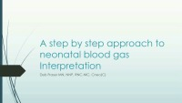 Back to Basics: Blood Gases: A Step-by-Step Approach
