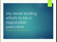 The Struggle to Prescribe Responsibly