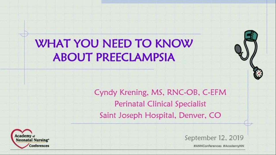 What You Need to Know about Preeclampsia