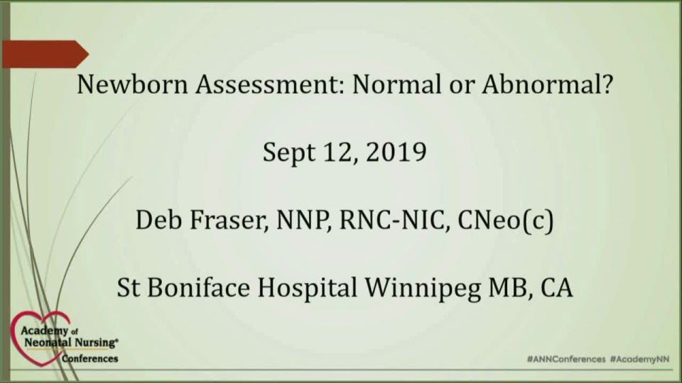 Newborn Assessment: Normal or Abnormal?