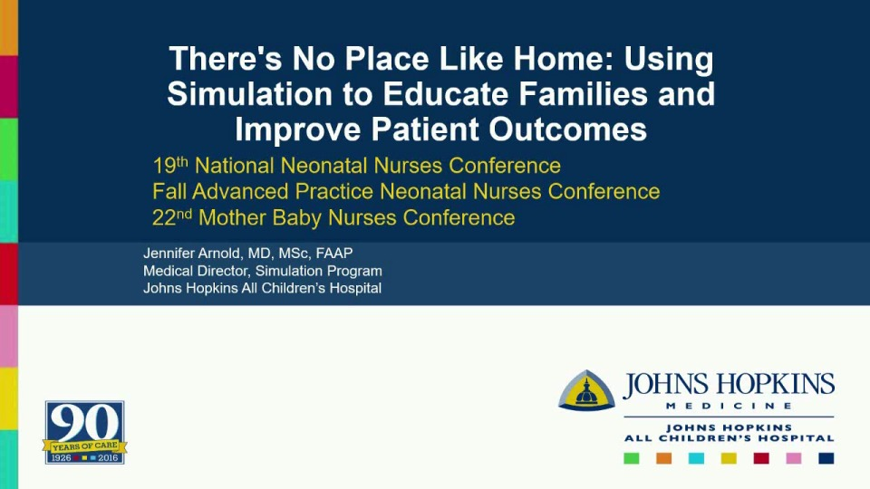 There's No Place Like Home: Using Simulation to Educate Families and Improve Patient Outcomes