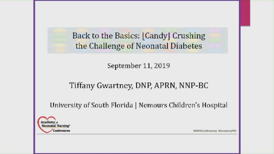 Back to Basics: (Candy) Crushing the Challenge of Neonatal Diabetes