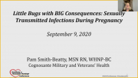Little Bugs with Big Consequences: STIs During Pregnancy