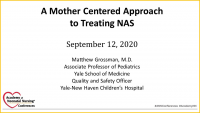 A Mother-Centered Approach to Treating NAS