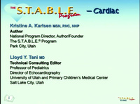S.T.A.B.L.E. Cardiac Module - An Advanced Course for Future Instructors<br /><span style='color: red;'>No handouts for this session. Books will be provided to attendees registered for this session.</span>