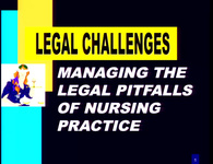Managing the Legal Pitfalls of Practice: The Road to Patient Safety