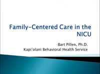 Family-Centered Care in the NICU
