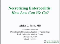 Necrotizing Enterocolitis: How Low Can We Go?