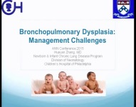 Bronchopulmonary Dysplasia: Management Challenges