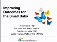 Improving Outcomes for the Small Baby