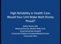 High Reliability in Health Care: Would Your Unit Make Walt Disney Proud?