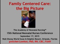 Family-Centered Care: The Big Picture