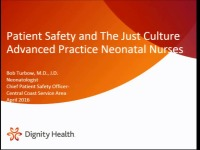"Patient Safety and the Just Culture: How do we ""Speak Up"" without Getting ""Shot Down""?"