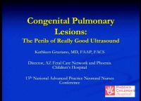 Congenital Pulmonary Airway Malformations