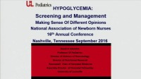 Screening and Management of Hypoglycemia