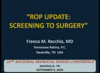 Update on ROP: From Screening to Surgery
