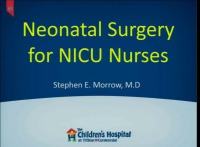 Neonatal Surgical Cases