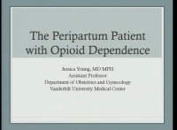The Peripartum Mother with Opioid Dependency