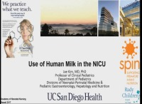 Use of Human Milk in the NICU