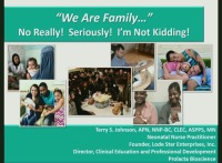 """We Are Family"" No Really! Seriously! Not Kidding!"