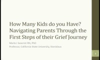 """How Many Kids Do You Have""? Navigating Parents Through the First Steps of their Grief Journey"