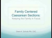 Family Friendly C-Sections: Keeping the Family in Focus