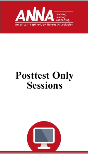 Posttest only sessions