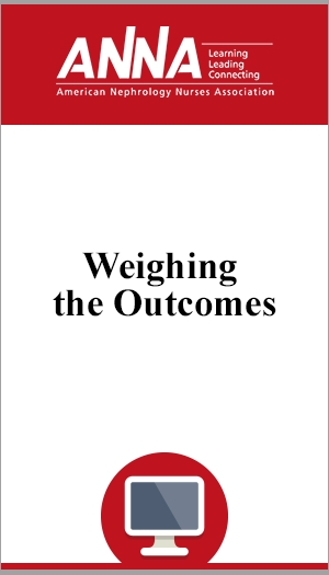 Weighing the Outcomes