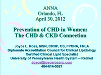 Prevention of Heart Disease in Women: The CKD and CVD Connection
