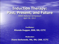 Transplantation: Induction Therapy: Past, Present, and Future