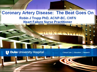 Coronary Artery Disease: The Beat Goes On